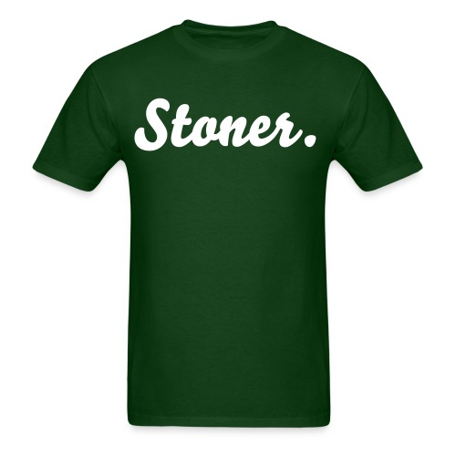 Loner Stoner - Men's T-Shirt