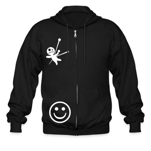 forks and chopsticks hoodie with zipper - Men's Zip Hoodie