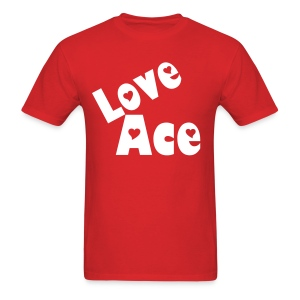 Love Ace Heart Tee - Men's T-Shirt