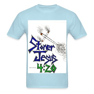 StonerJesus420 t-shirt by @StonerSkitzo - Men's T-Shirt