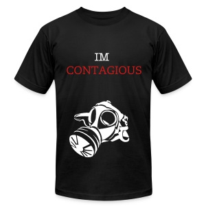 Im Contagious Men's T-Shirt - Jerrica - Men's T-Shirt by American Apparel