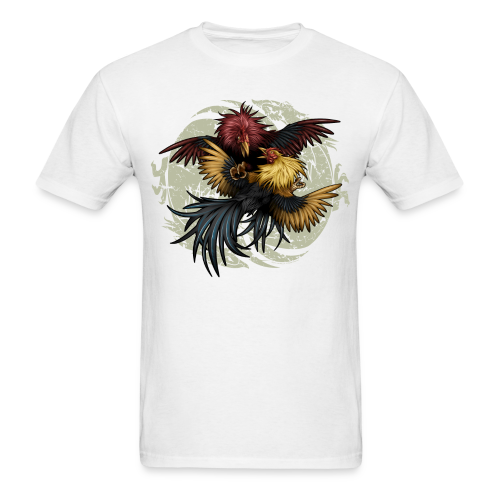 C-1203 Ying Yang Gallos - Men's T-Shirt