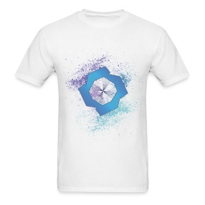 JR Splat Shirt (CMYK) - Men's T-Shirt