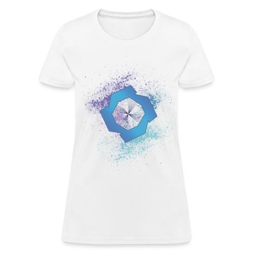 JR Splat Shirt (CMYK) - Women's T-Shirt