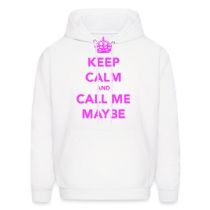Keep Calm and Call Me Maybe Hoodie - Men's Hoodie