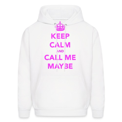 Keep Calm and Call Me Maybe Hoodie - Men's Hoodie