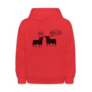 Da Bulls Talk - Kids' Hoodie