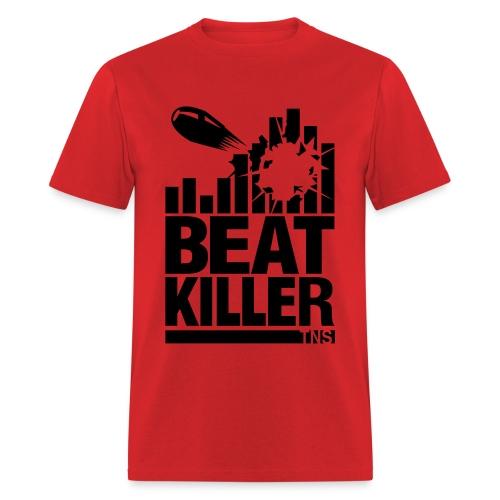 Beat Killer Black Text - Men's T-Shirt