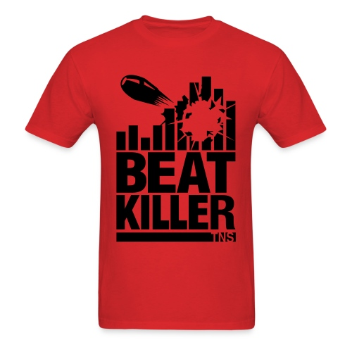 Beat Killer Black Text - Men's T-Shirt