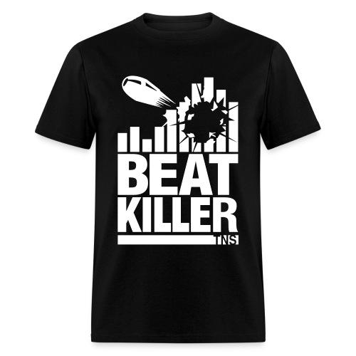 Beat Killer white Text - Men's T-Shirt