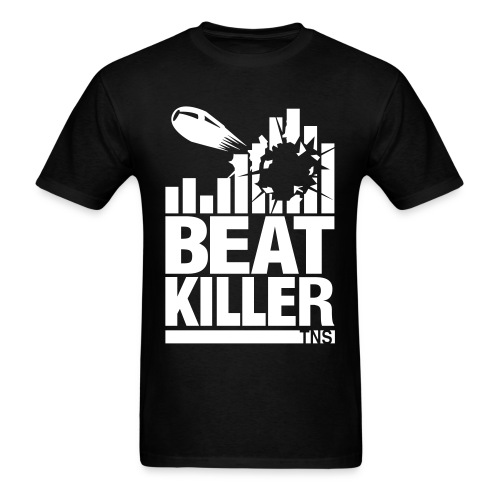 Beat Killer white Text - Men's T-Shirt