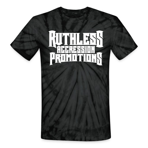 Ruthless Aggression Tie-Dye - Unisex Tie Dye T-Shirt