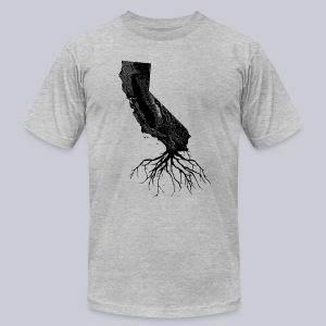 California Roots - Men's T-Shirt by American Apparel