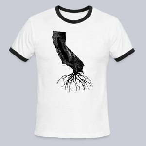 California Roots - Men's Ringer T-Shirt