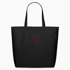 dotted number 25 (1c) Bags