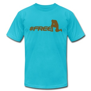 #Free15 Jacksonviller - Men's T-Shirt by American Apparel