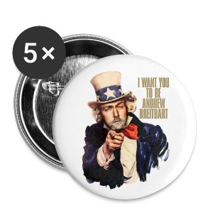Andrew Breitbart as Uncle Sam