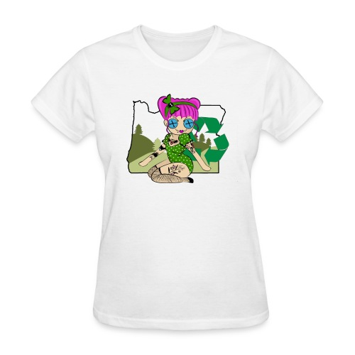 Oregon Women's Relaxed Fit T-Shirt - Women's T-Shirt