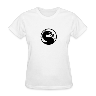 Kombat Dragon HD VECTOR Women's T-Shirts