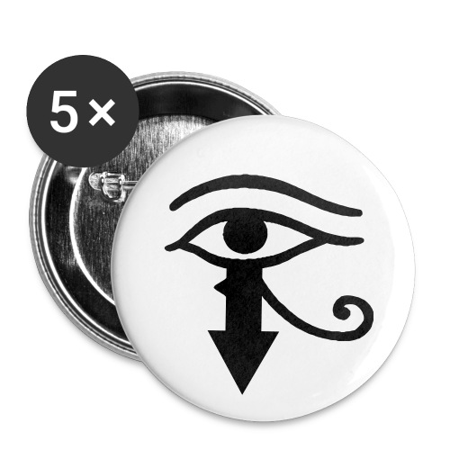 The all seeing eye - Small Buttons