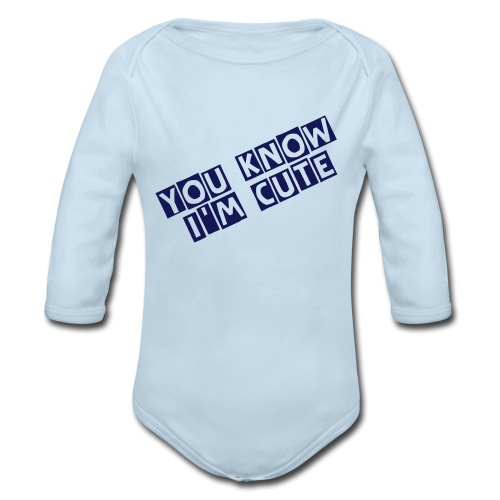 SO FEED ME - Organic Long Sleeve Baby Bodysuit