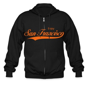 San Francisco - Men's Zip Hoodie