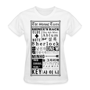 Shinee- Sherlock Ladies Tee - Women's T-Shirt
