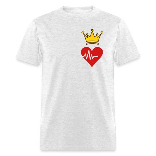 King Of Frequent HeartBreaks - Men's T-Shirt