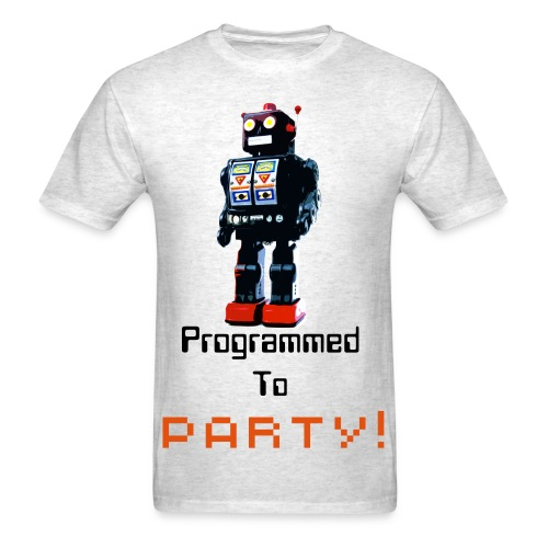 Mens programmed to party shirt - Men's T-Shirt