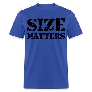 Size Matters Men's Standard Tee - Men's T-Shirt