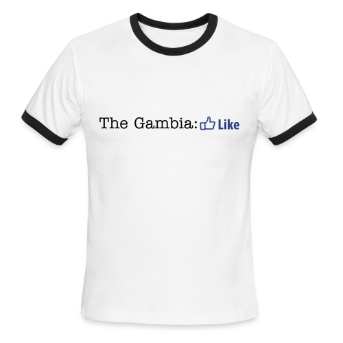 The Gambia: Like t-shirts - Men's Ringer T-Shirt