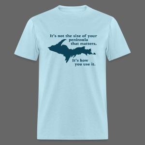 Size of your Peninsula - Men's T-Shirt