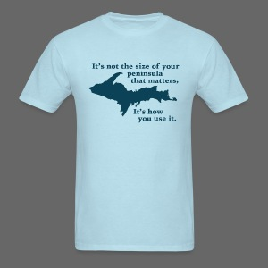 Size of your Peninsula - Men's T-Shirt