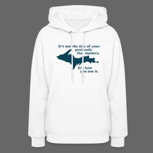 Size of your Peninsula - Women's Hoodie