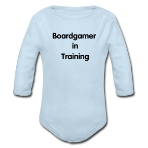 Boardgamer in Training Baby Gear - Long Sleeve Baby Bodysuit
