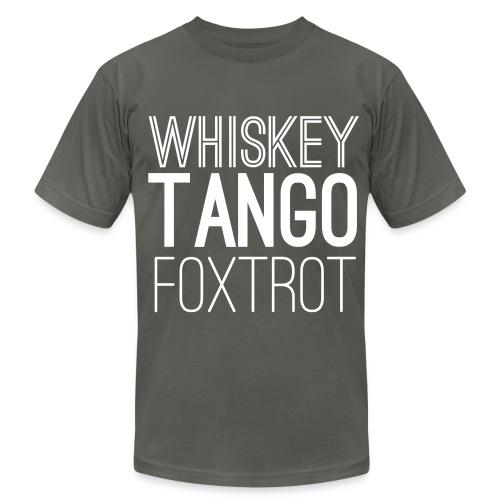 WTF? - Men's Fine Jersey T-Shirt