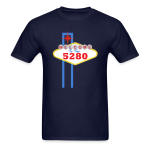 Welcome To The 5280 - Denver, CO - Mens - Men's T-Shirt