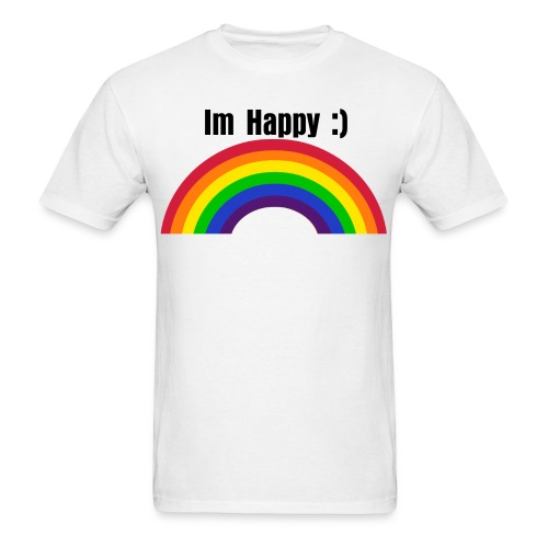 Im HAPPY :) - Men's T-Shirt