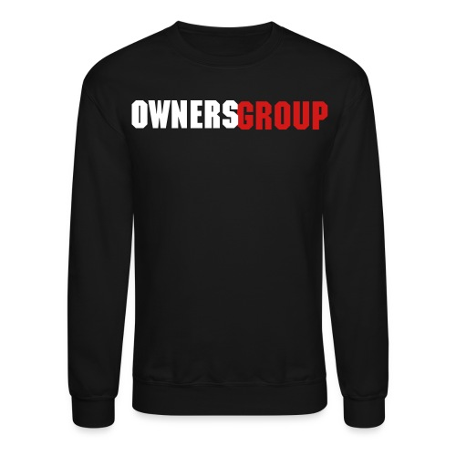 Owners Group Design 1 Crewneck - Crewneck Sweatshirt
