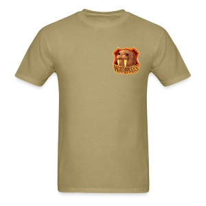 Walrus Shield  - Men's T-Shirt