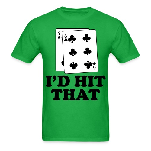 I'd Hit That Shirt - Men's T-Shirt