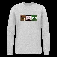 Long Sleeve Shirts ~ Men's Long Sleeve T-Shirt by American Apparel ~ Hatventures Trio
