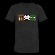 T-Shirts ~ Unisex Tri-Blend T-Shirt by American Apparel ~ Hatventures Trio