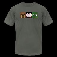 T-Shirts ~ Men's T-Shirt by American Apparel ~ Hatventures Trio