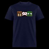 T-Shirts ~ Men's T-Shirt ~ Hatventures Trio