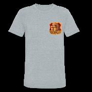 T-Shirts ~ Unisex Tri-Blend T-Shirt by American Apparel ~ Walrus Shield