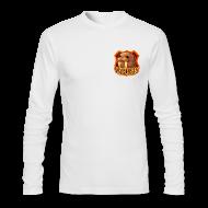 Long Sleeve Shirts ~ Men's Long Sleeve T-Shirt by American Apparel ~ Walrus Shield