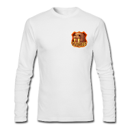 Long Sleeve Shirts ~ Men's Long Sleeve T-Shirt by Next Level ~ Walrus Shield