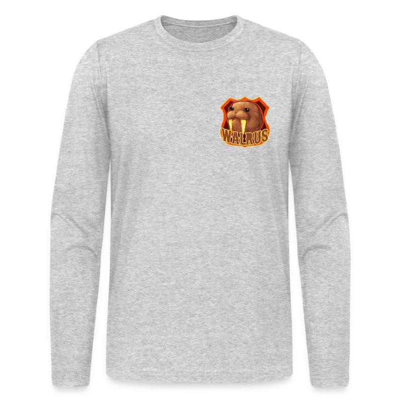 Walrus Shield - Men's Long Sleeve T-Shirt by Next Level
