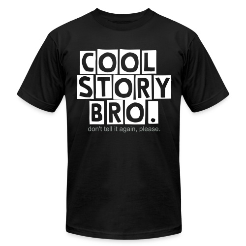 Cool Story Bro. - Men's  Jersey T-Shirt
